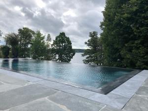 The swimming pool at or near Villa Lovik