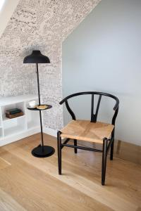 A seating area at Águamel Sintra, Boutique Guest House