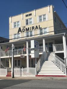 O edifício onde o motel está situado
