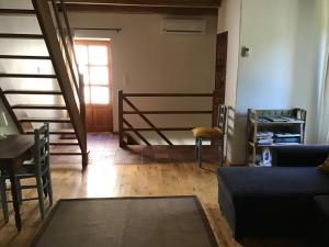 Coin salon dans l'établissement Maison de vacances sud Ardèche