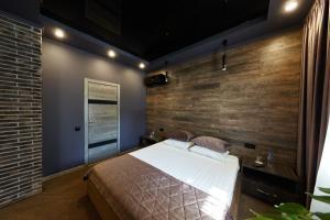 Кровать или кровати в номере Moscotel