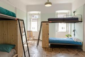 A bunk bed or bunk beds in a room at ControVento