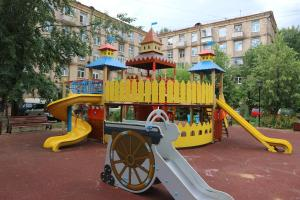 Children's play area at Rustaveli Apartments