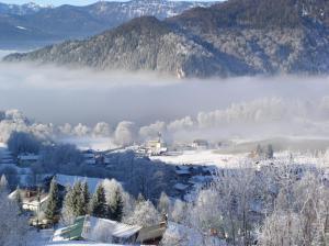 Alpenhotel Denninglehen during the winter