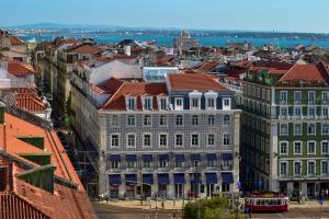 A bird's-eye view of My Story Hotel Figueira