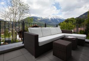 Een balkon of terras bij Apartments Drei Türme