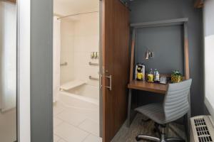 A bathroom at Staypineapple, Hotel Z, Gaslamp San Diego