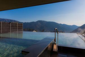 The swimming pool at or near Hakone Kowakien Tenyu