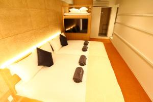 サクラクロスホテル上野御徒町にあるベッド