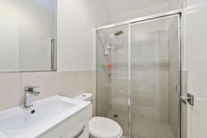A bathroom at Fresh Air