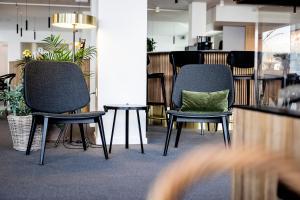 Et opholdsområde på KOMPAS Hotel Aalborg