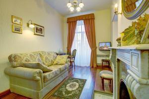 Гостиная зона в Davidov Guest House