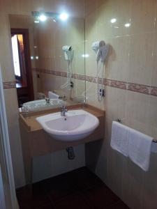 A bathroom at Complejo La Cabaña