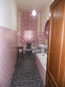 A bathroom at Soggiorno Migliorini