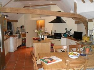 A kitchen or kitchenette at Church Hall Farm Bed and Breakfast