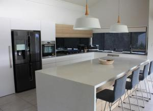 A kitchen or kitchenette at Wine Country Villas
