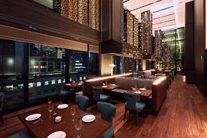 A restaurant or other place to eat at The Gate Hotel Tokyo by Hulic