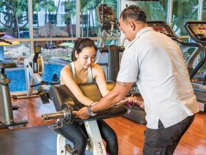 The fitness center and/or fitness facilities at Hard Rock Hotel Pattaya