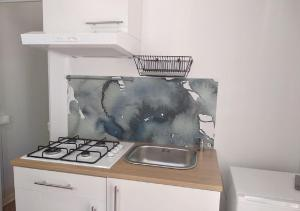 Cucina o angolo cottura di Camping Borghetti