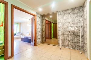 Ванная комната в Apartments on Prosvesheniya 87/1