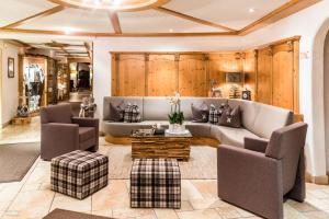 Гостиная зона в Garni Hotel Mirabel