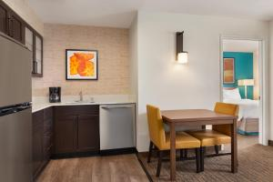 A kitchen or kitchenette at Residence Inn Las Vegas South