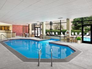The swimming pool at or close to Fort Collins Marriott