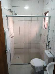 A bathroom at Estrela Palace Hotel