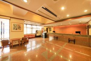 The lobby or reception area at Maple Inn Makuhari