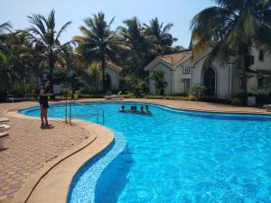 The swimming pool at or close to Casa Legend Villa & Apartments Arpora - Baga - Goa