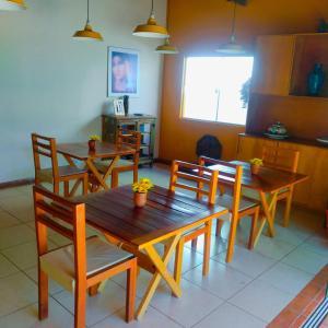 Espaço para refeições in lodge