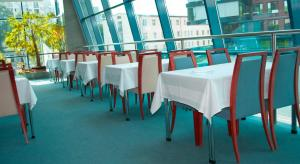 A restaurant or other place to eat at Garni G Hotel Bratislava
