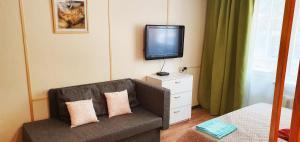 Телевизор и/или развлекательный центр в Апартаменты на Трнавская 26