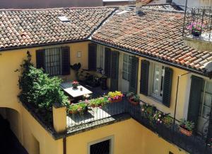 A balcony or terrace at Angolo Del Poeta