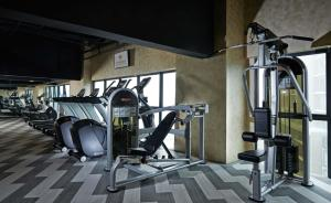 The fitness center and/or fitness facilities at Grand Ion Delemen Hotel