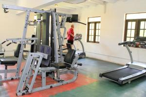 The fitness centre and/or fitness facilities at Grand Udawalawe Safari Resort