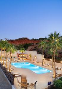 A view of the pool at Sea View Hotel & Apartments or nearby