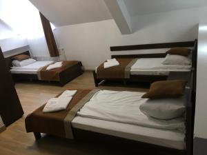Кровать или кровати в номере Европа