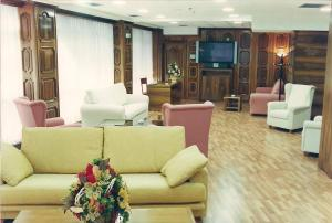 The lounge or bar area at Hotel Princess