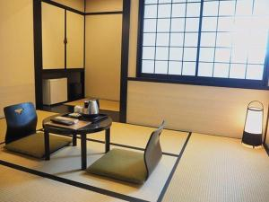 A seating area at The Edo Sakura