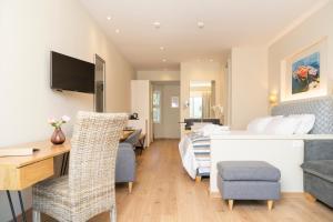 Un ou plusieurs lits dans un hébergement de l'établissement Art Hotel Debono