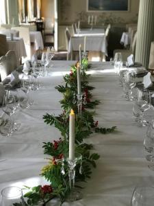 En restaurang eller annat matställe på Hellefors Herrgård