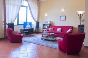 Area soggiorno di Agriturismo Cascina Olivetta