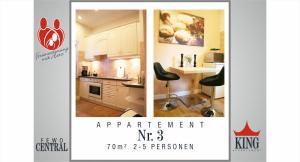 Küche/Küchenzeile in der Unterkunft Wimaria Apartments - Central