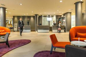 The lobby or reception area at Novotel Berlin Mitte