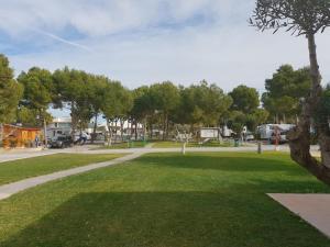 Jardín al aire libre en Camping La Colina