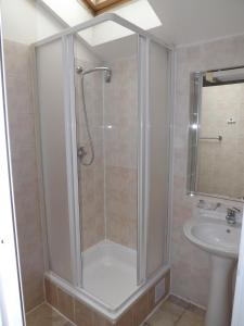 Ванная комната в Beta Pension