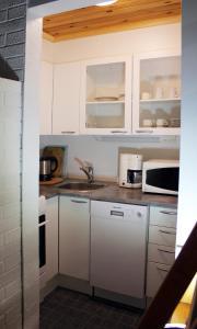 Ett kök eller pentry på Tervakosken Tervaniemi