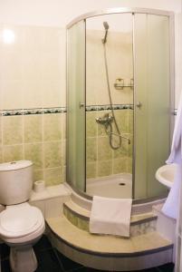 Ванная комната в Гостиница Вираж