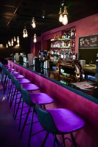 Salone o bar di Centrum Hotel